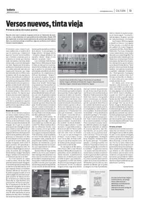 Gerardo Ferreira - Versos nuevos-tinta vieja - la diaria 15-08-2012